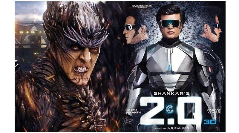 Rajinikanth's 2.0 crosses Rs 500 crore at the worldwide box office