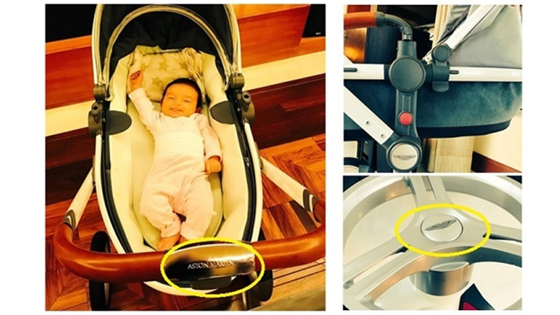 Adnan sami buys limited edition aston martin stroller for daughter