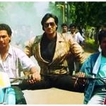 Ajay Devgn split on bike