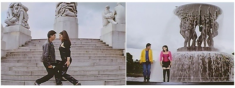 Mohabbat Ho Gayee Hai song from Baadshah shot in Norway