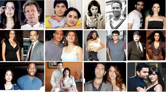 Top Love Affairs of Bollywood Actresses With Cricketers