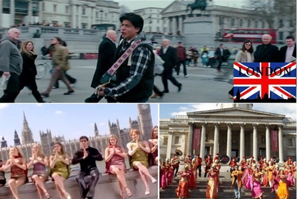 bollywood films shot in london
