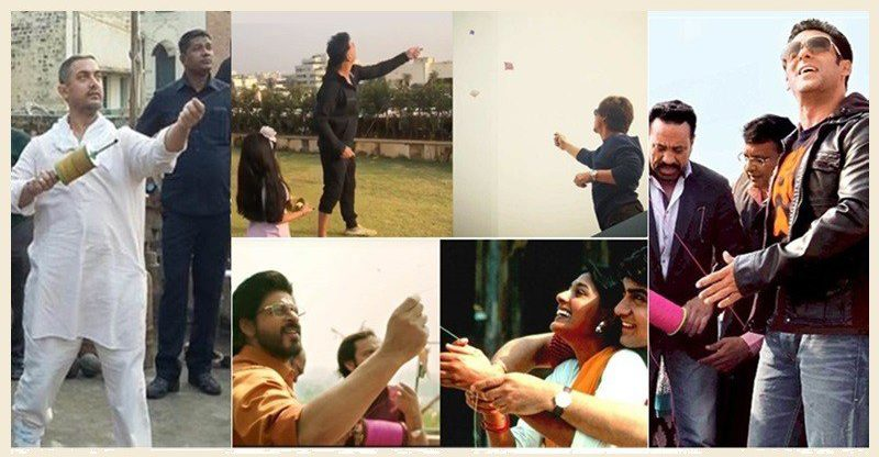 Bollywood celebs flying kites on Makar Sankranti