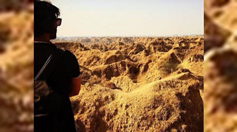 Filming in Chambal