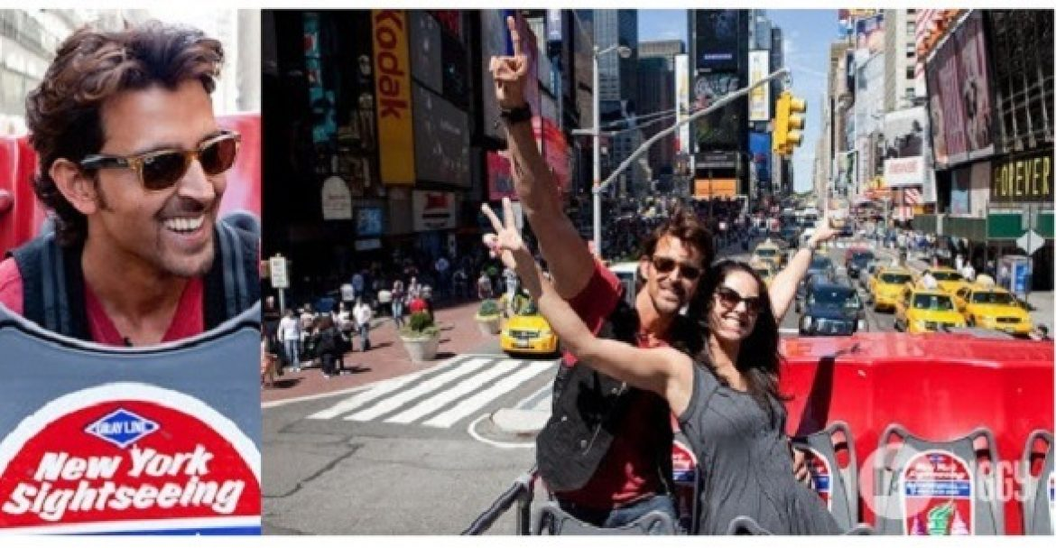 Hrithik Roshan in New York City