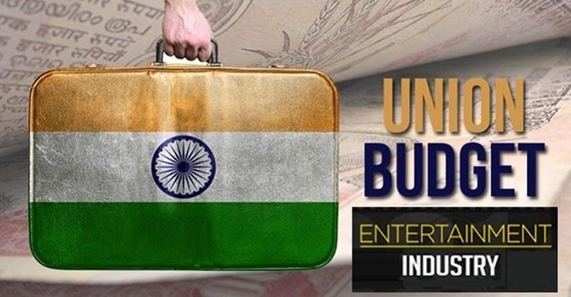 union budget for Indian entertainment industry
