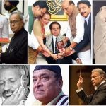 Indian film celebs with highest civilian awards