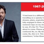 Irrfan Khan dies of cancer