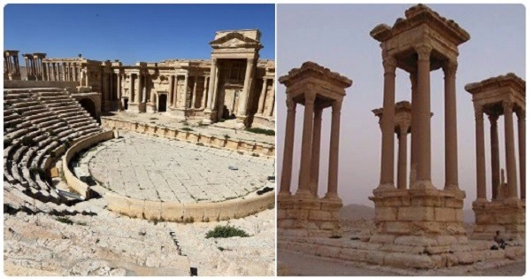isis destroy heritage sites