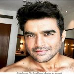 Madhavan shirtless selfie viral