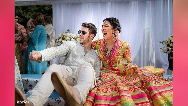 Priyanka Chopra & Nick Jonas wedding