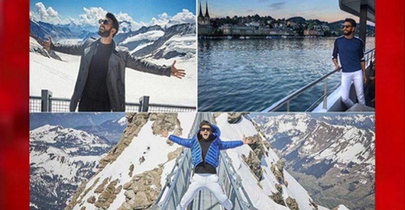 Ranveer singh in switzerland