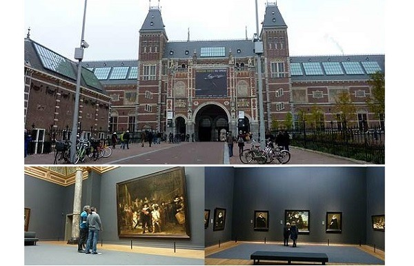 SRK shares selfie with Rembrandt artwork at world famous Rijks Museum in Amsterdam