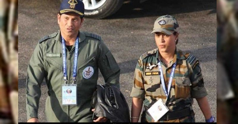 Sachin Tendulkar's Top Gun photo from Pokhran
