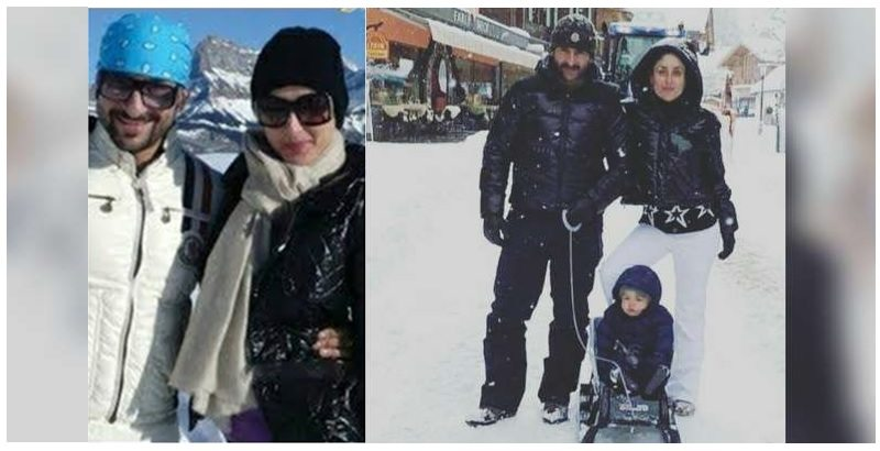 Saif & Kareena Own a House in Gstaad