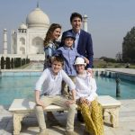 Justin Trudeau, Sophie Greoire Trudeau, Xavier Trudeau, Ella-Grace Trudeau, Hadrien Trudeau